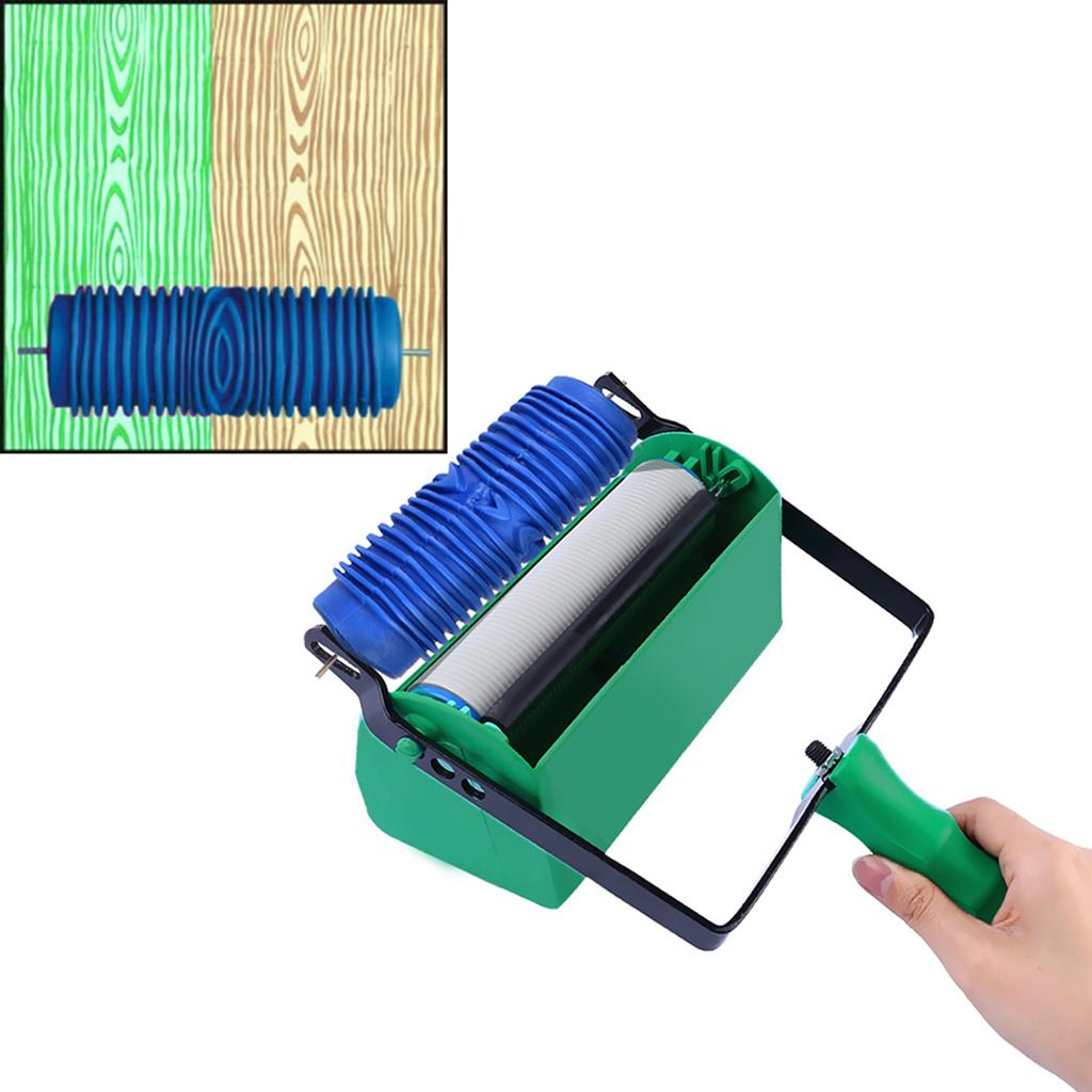 Durable Wall Texture Roller DIY Patterned Paint Rollers for Walls Decoration