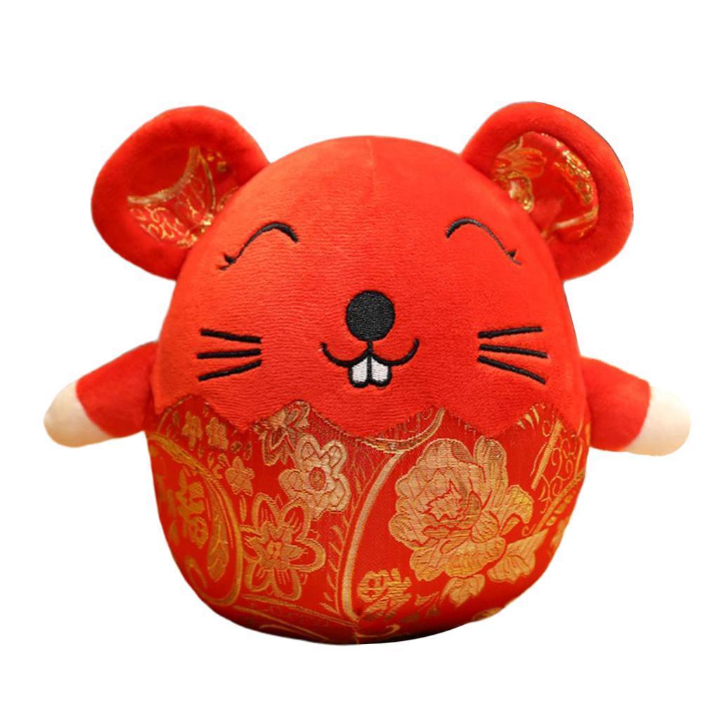 New Year Rat Plush Toy Stuffed Animals 2020 Chinese New ...