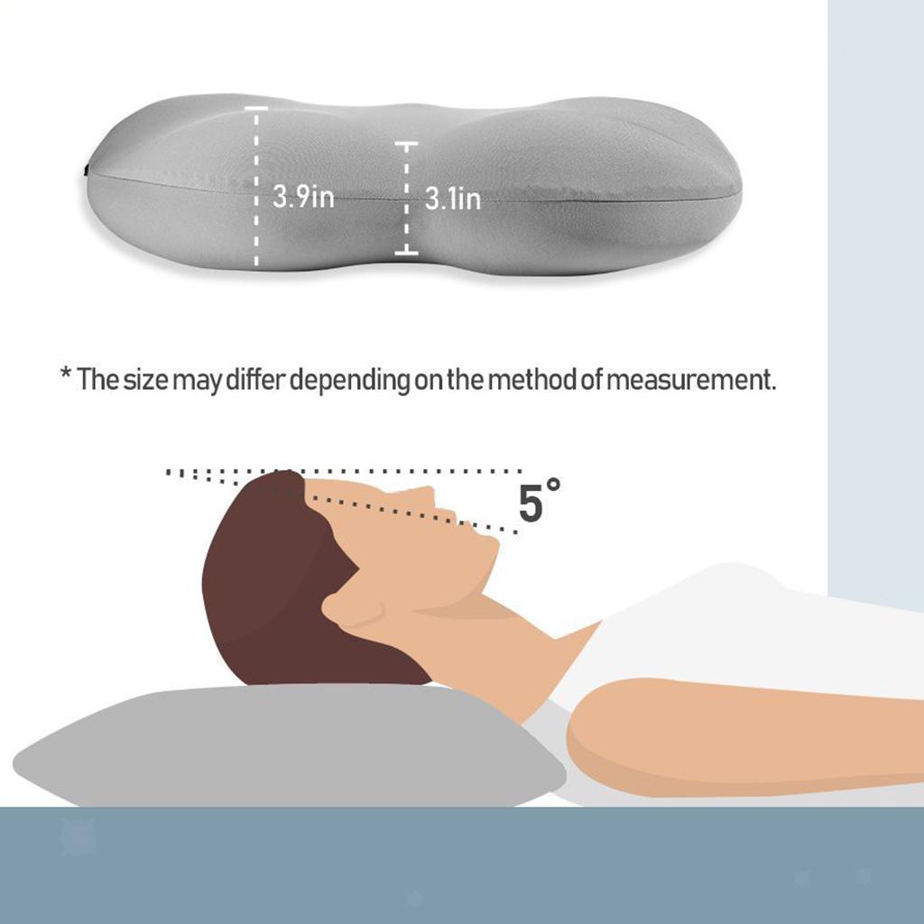 miniatura 3 - Cuscini per il collo, Cuscino da viaggio per il sonno profondo, Cuscini per il