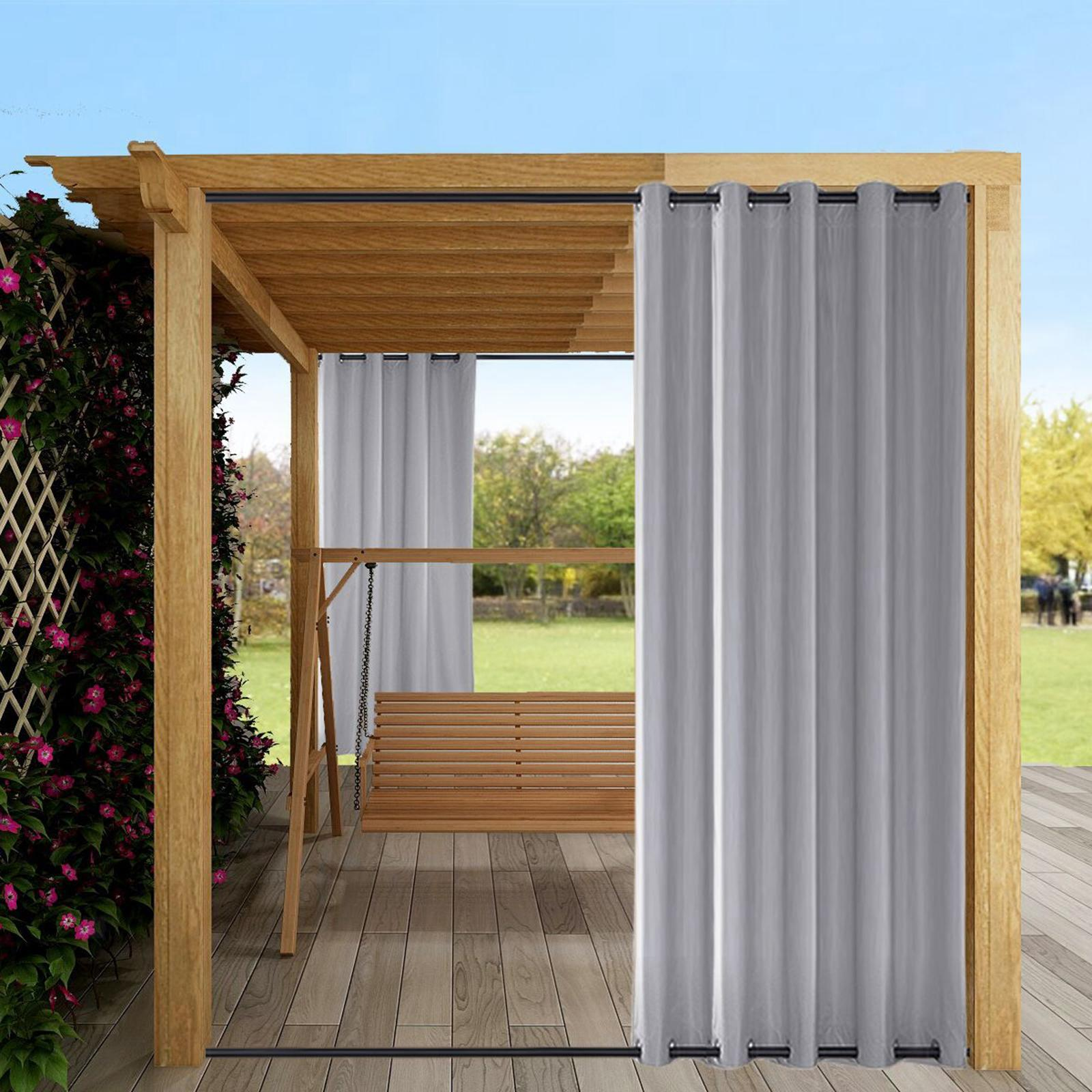 Terrasse vorhang outdoor drape wärme isolierte veranda pavillon ...