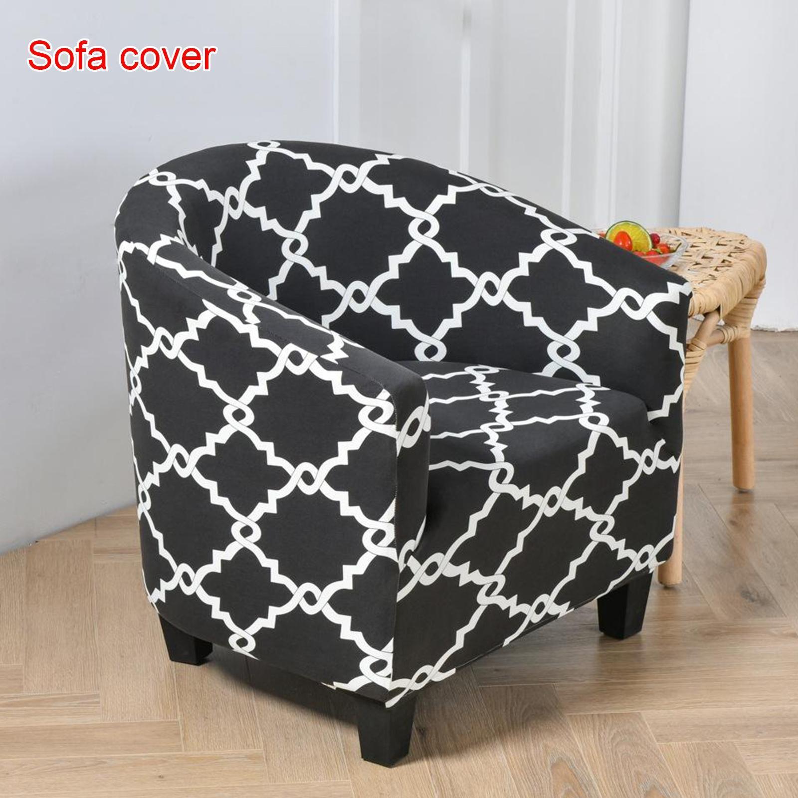 miniatura 15 - Fodera per poltrona singola per poltrona Fodera per sedia in colori assortiti