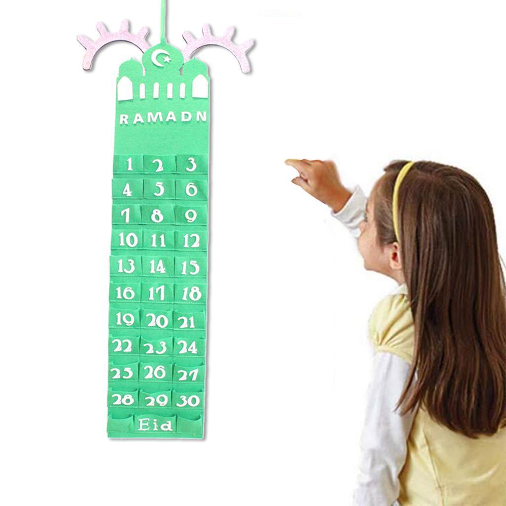2021 Ramadan Calendar Party Decorations Eid Mubarak ...