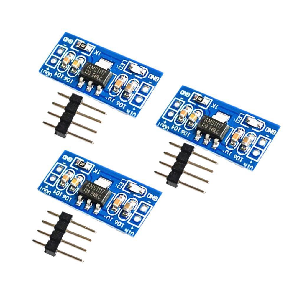 AMS1117-DC-Voltage-Regulator-Power-Supply-Module thumbnail 11