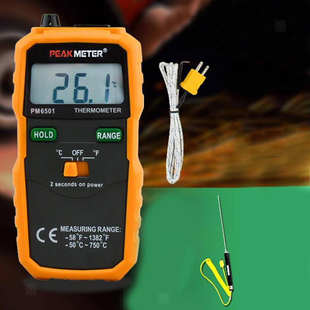 thumbnail 7 - Digital Thermocouple Thermometer LCD Backlight Temperature Meter  Wireless K