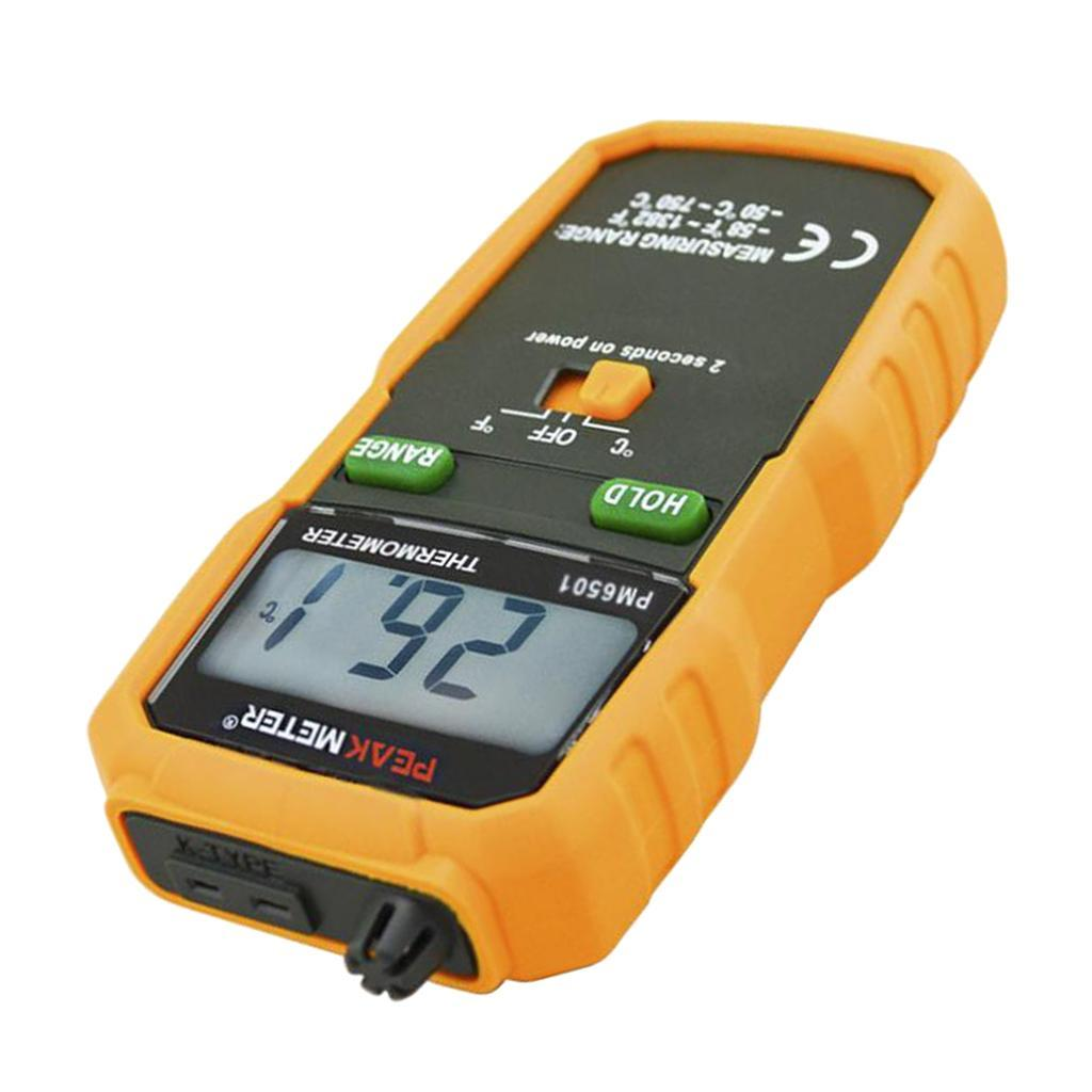 thumbnail 6 - Digital Thermocouple Thermometer LCD Backlight Temperature Meter  Wireless K