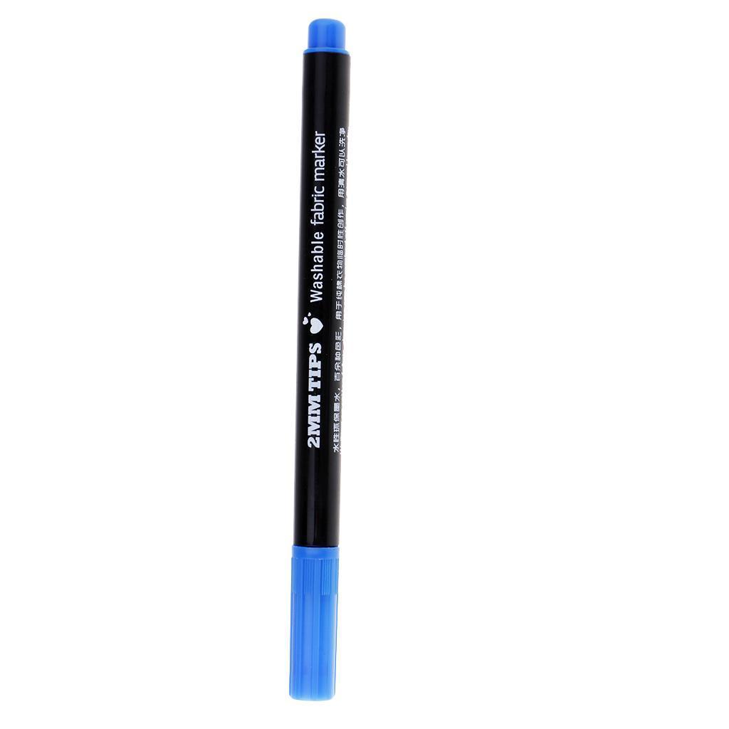 miniatura 10 - Pennarelli per stoffa in tessuto con punta da 2 mm Marcatura con vernice