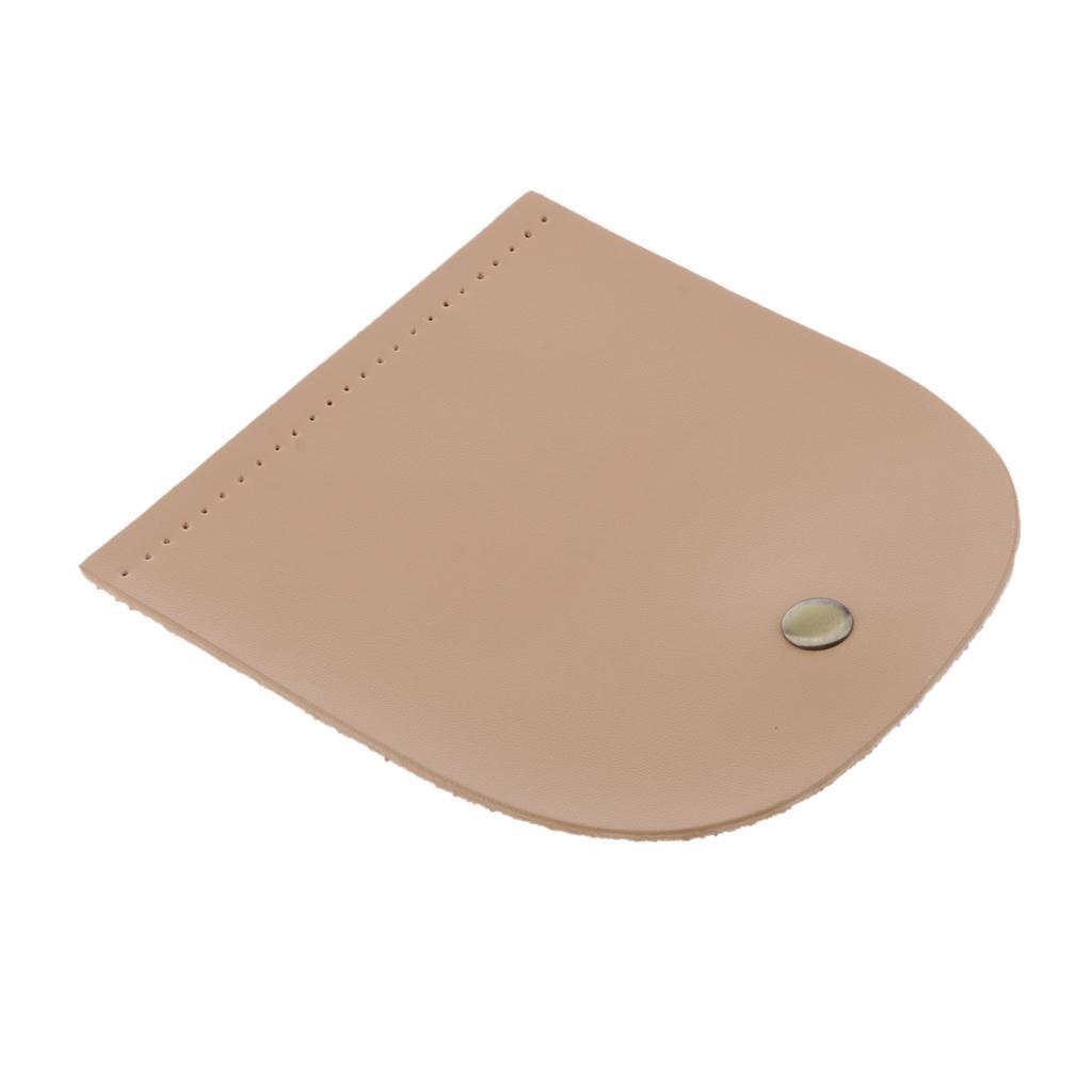 Vorgestanzte-2-lagige-PU-Lederklappe-mit-handgefertigten-Taschenzubehoer-mit Indexbild 12