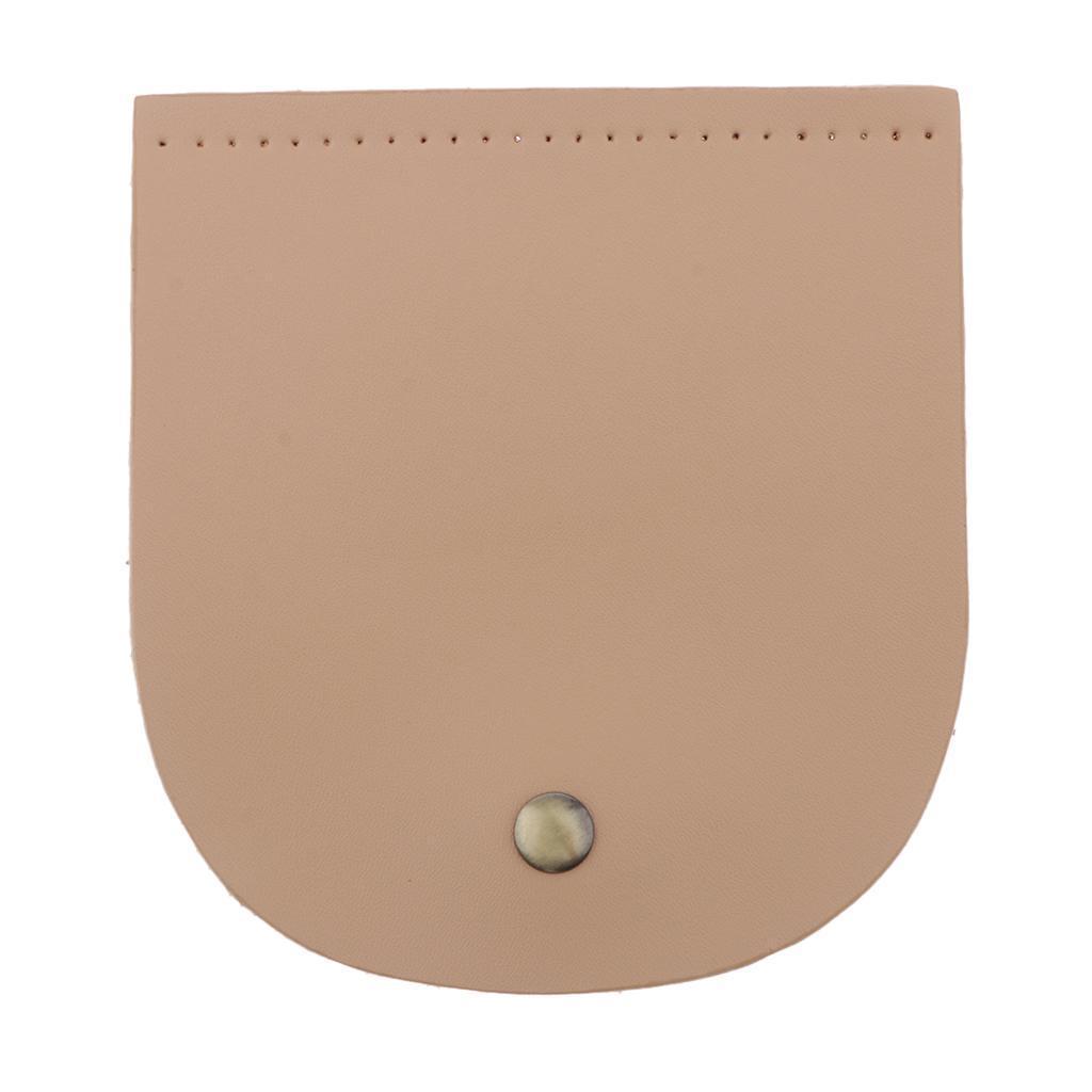 Vorgestanzte-2-lagige-PU-Lederklappe-mit-handgefertigten-Taschenzubehoer-mit Indexbild 11