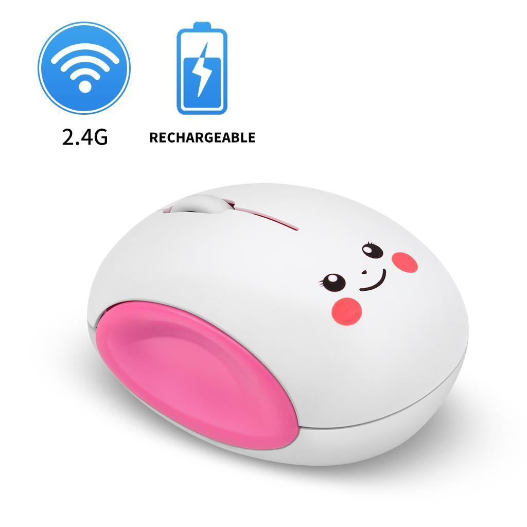 miniature 8 - Sans fil Rechargeable 2.4G souris réglable DPI 3 niveau pour ordinateur de