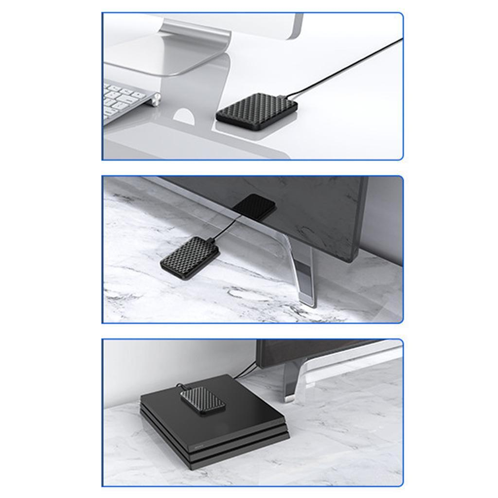 ABS-2-5-pollici-SATA-a-USB-3-0-Hard-Drive-Enclosure-Caso-per-Laoptop-HDD-SSD miniatura 18
