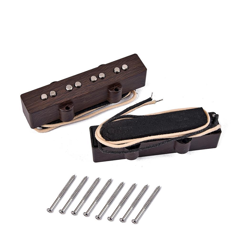 Alnico-Single-Coil-Humbucker-Tonabnehmer-Pickguard-Teile-mit-Schrauben-fuer-4 Indexbild 4