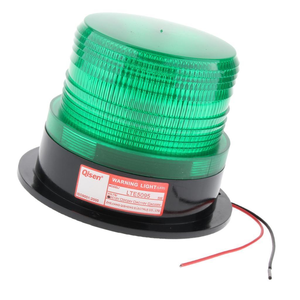 thumbnail 3 - 3×LED Emergency Beacon Flash Strobe Warning Light 12V Amber 60-90 Times/Min