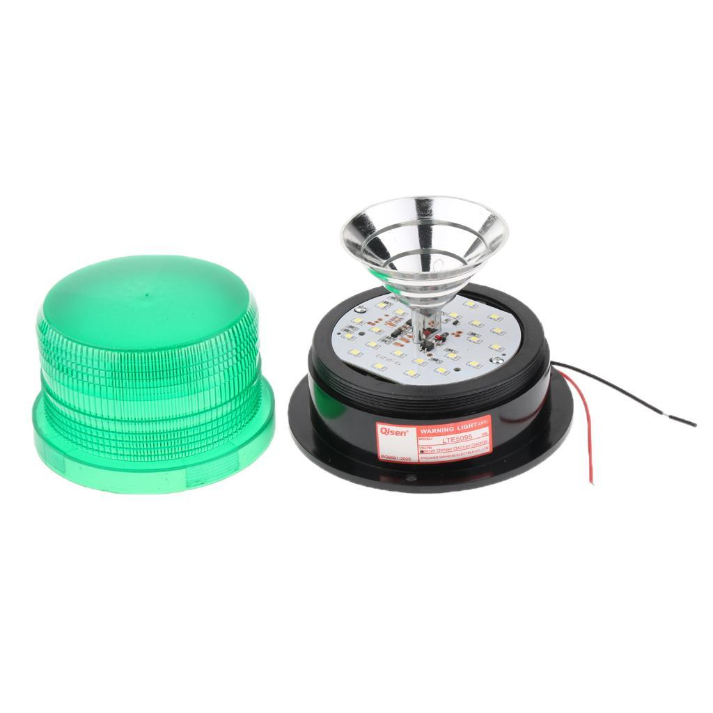 thumbnail 2 - 3×LED Emergency Beacon Flash Strobe Warning Light 12V Amber 60-90 Times/Min