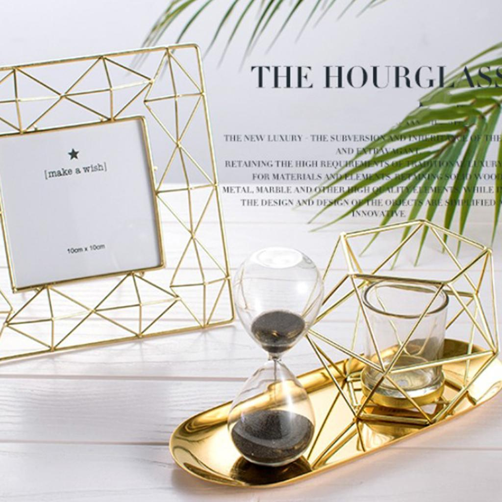 Lovoski-Wedding-Wire-3D-Geometric-Tealight-Candle-Holder-Candelabra-Candlestick thumbnail 11