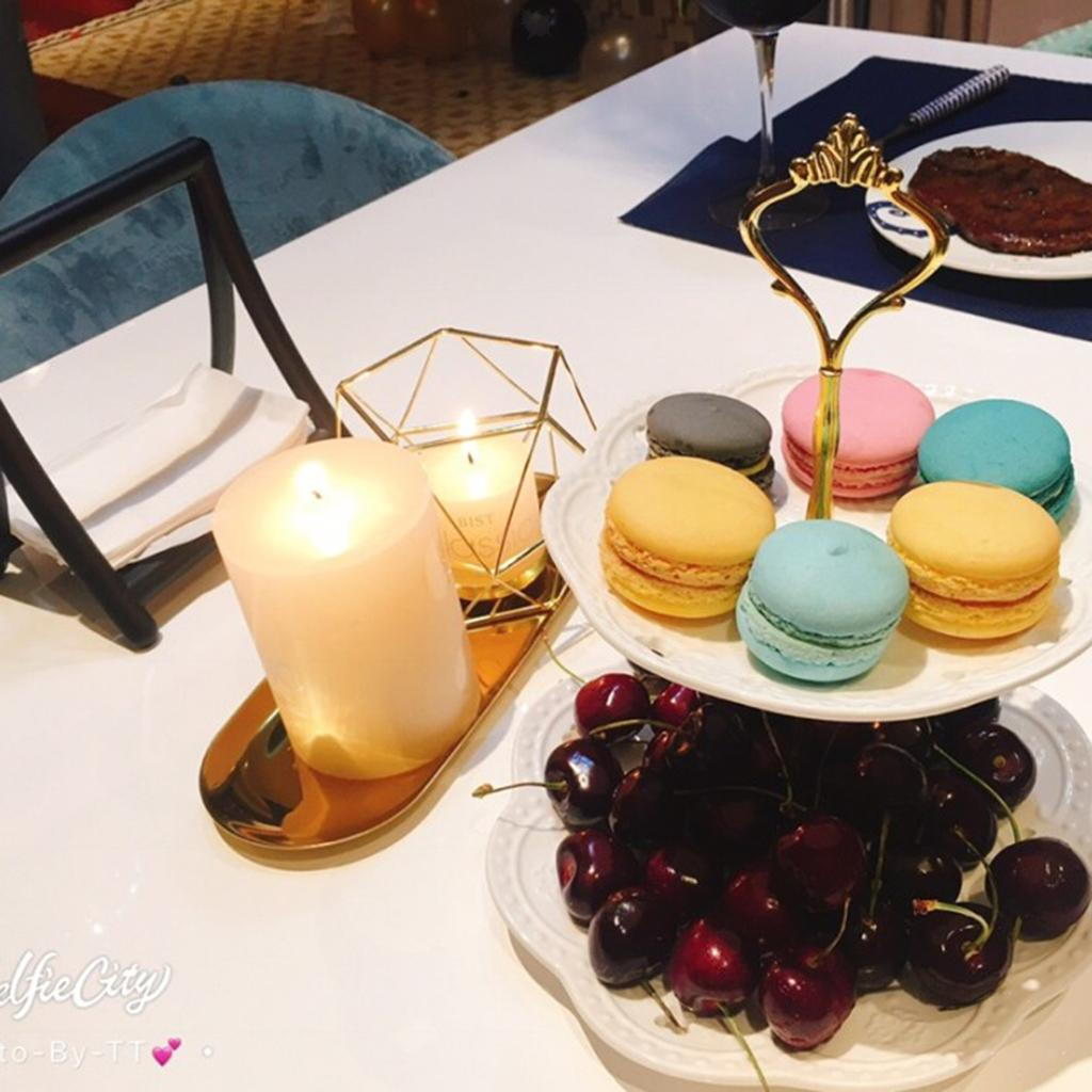 Lovoski-Wedding-Wire-3D-Geometric-Tealight-Candle-Holder-Candelabra-Candlestick thumbnail 9