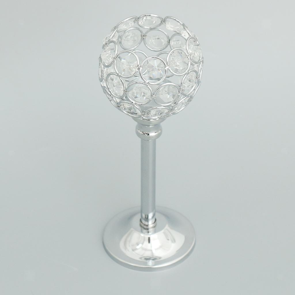 Porte-bougie-En-Cristal-Mosaique-Supporte-de-Bougie-pour-Fete-Decoration miniature 20