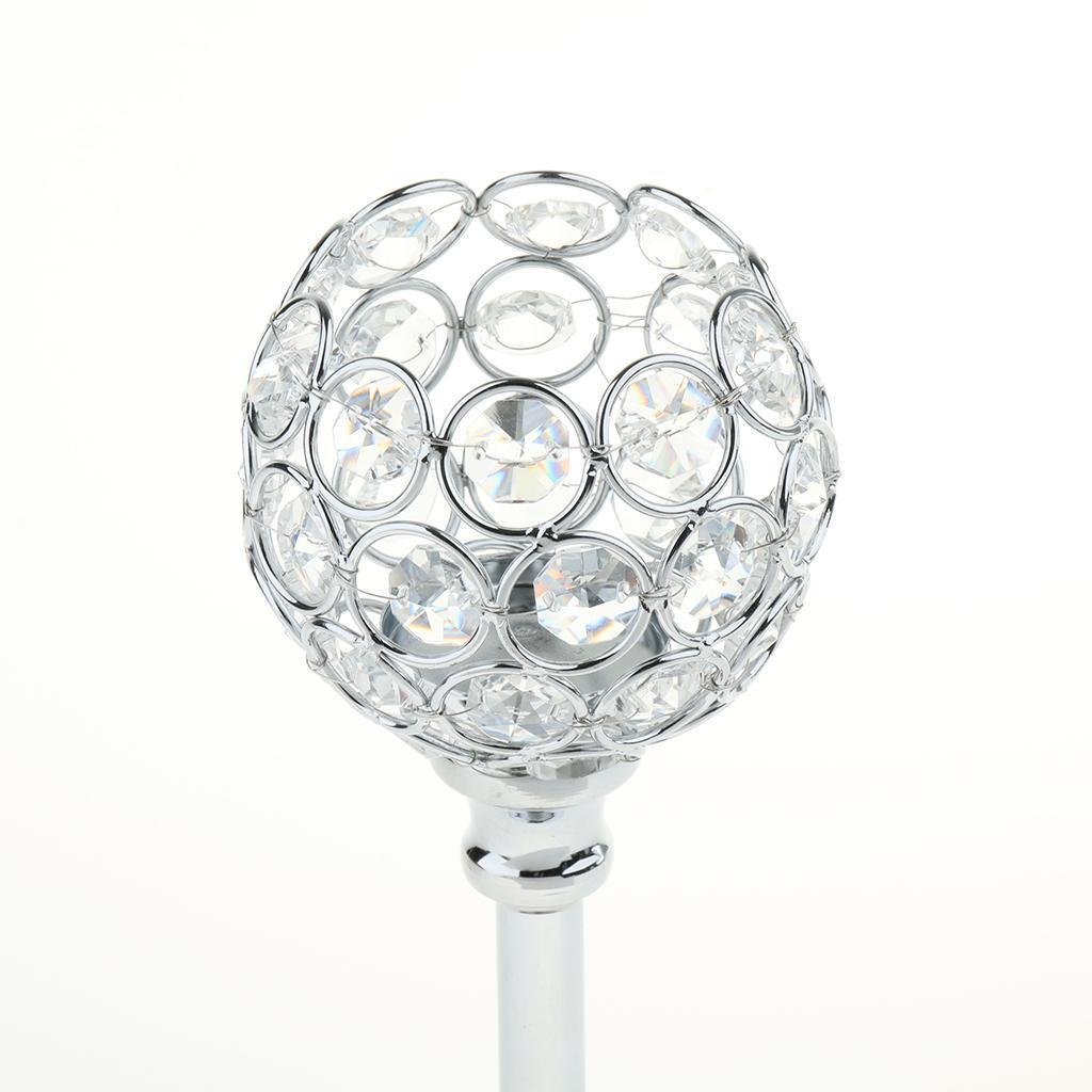 Porte-bougie-En-Cristal-Mosaique-Supporte-de-Bougie-pour-Fete-Decoration miniature 27