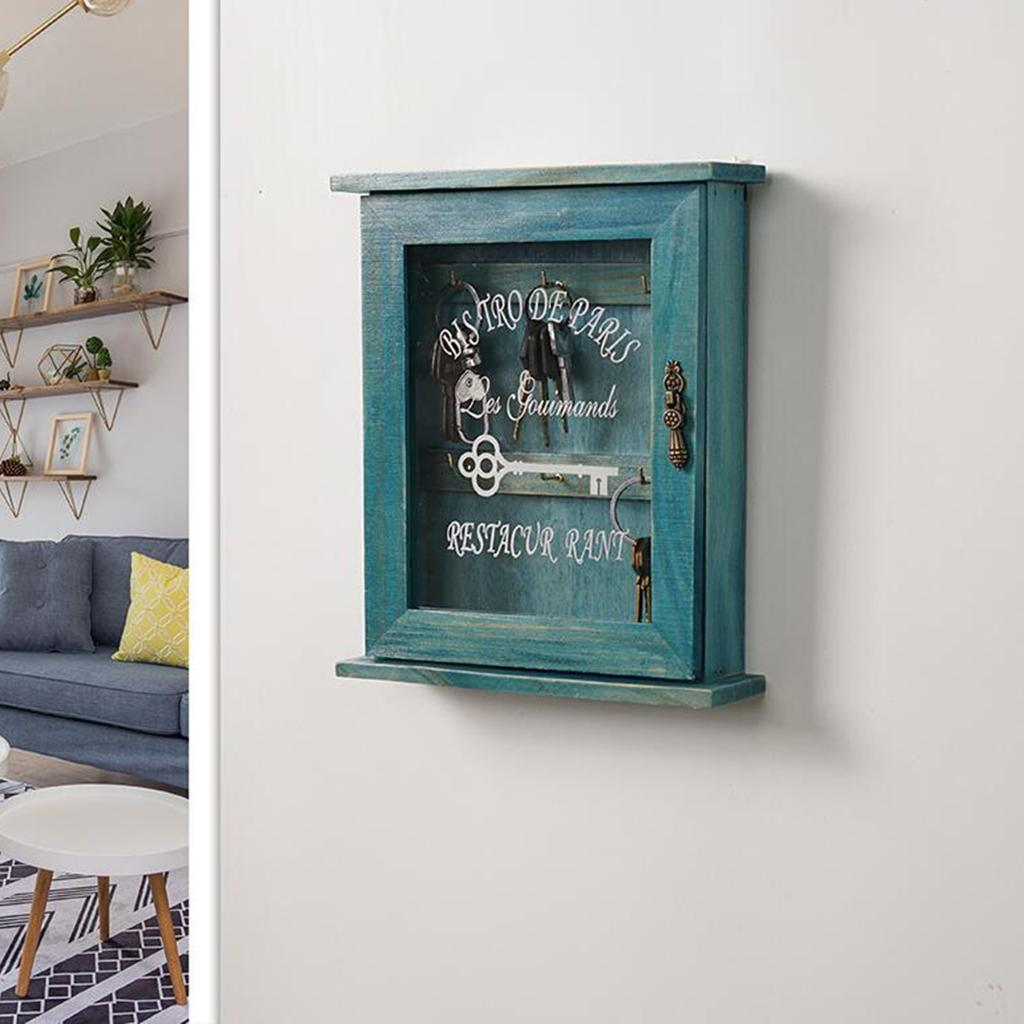 Nordic-creative-key-storage-wall-mounted-storage-box thumbnail 7