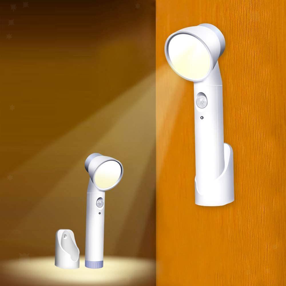 miniatura 4 - Luce-notturna-4W-Casa-Camera-da-letto-Corridoio-Lampada-di-sicurezza-Sensore-di