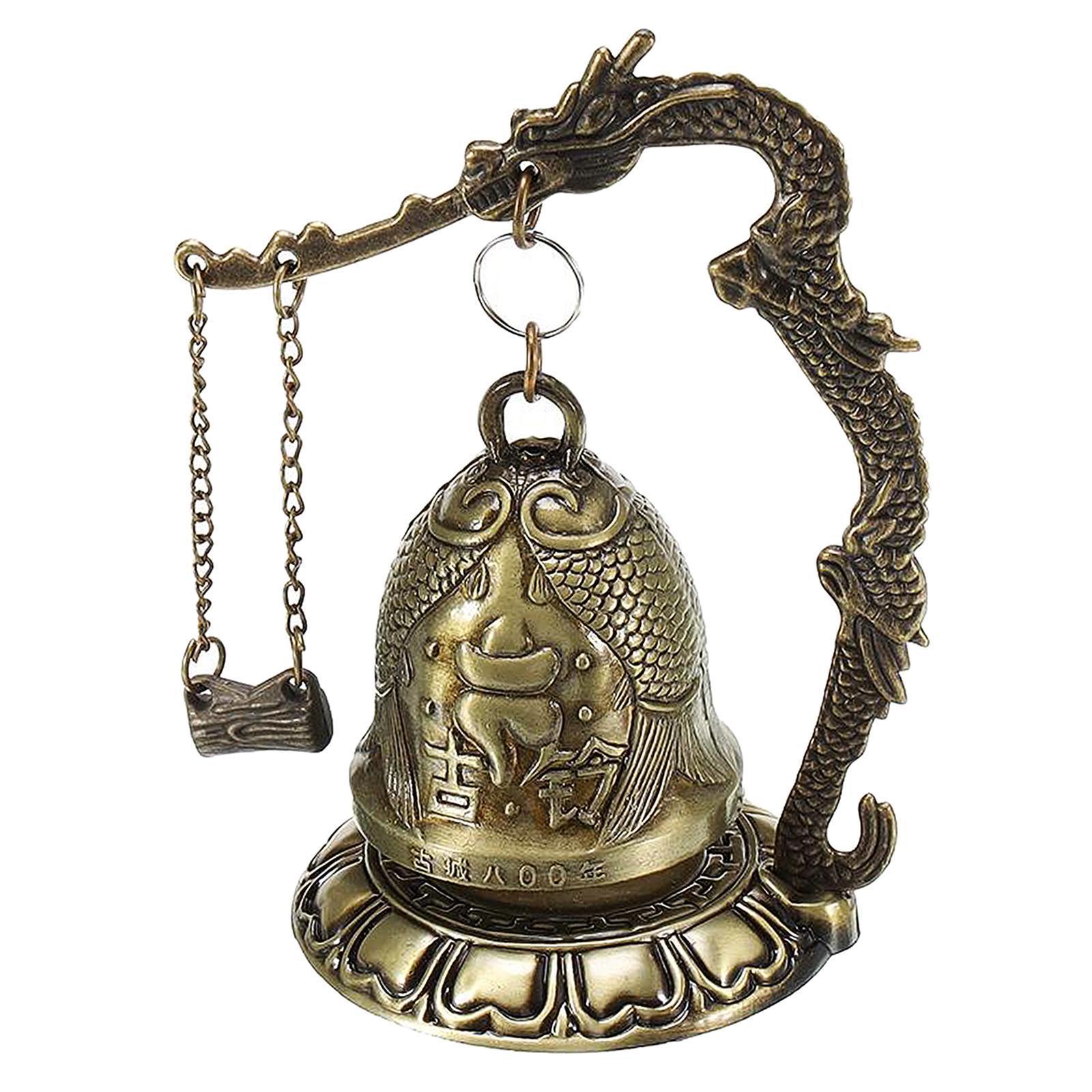 miniatura 51 - Buddha Drago Fengshui campana giocattoli tibetano per Home GIARDINO