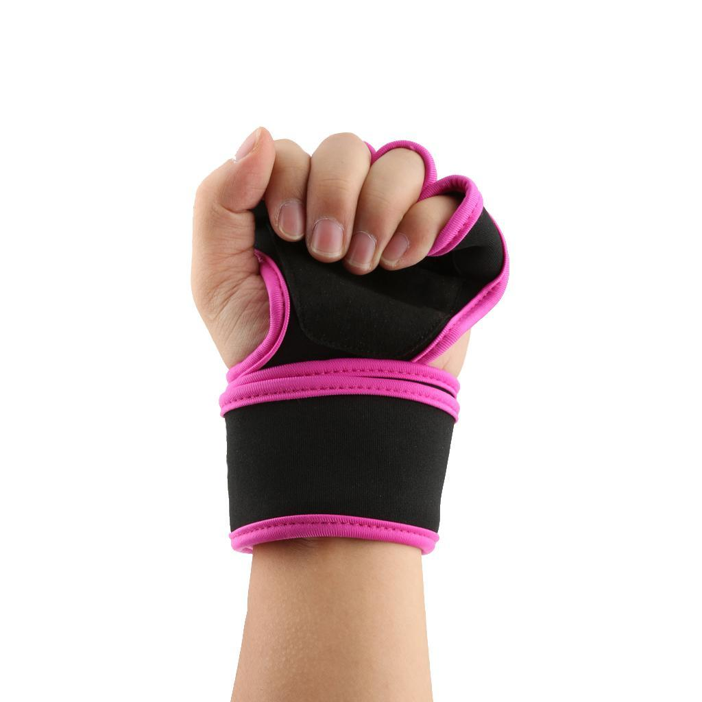 Wrist Wrap Workout Dumbbell Fitness Gym Weight Lifting
