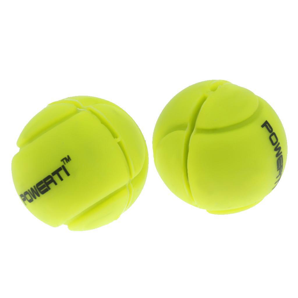 T TOOYFUL Lot de 2X Raquette de Tennis Amortisseur Anti-vibrateur