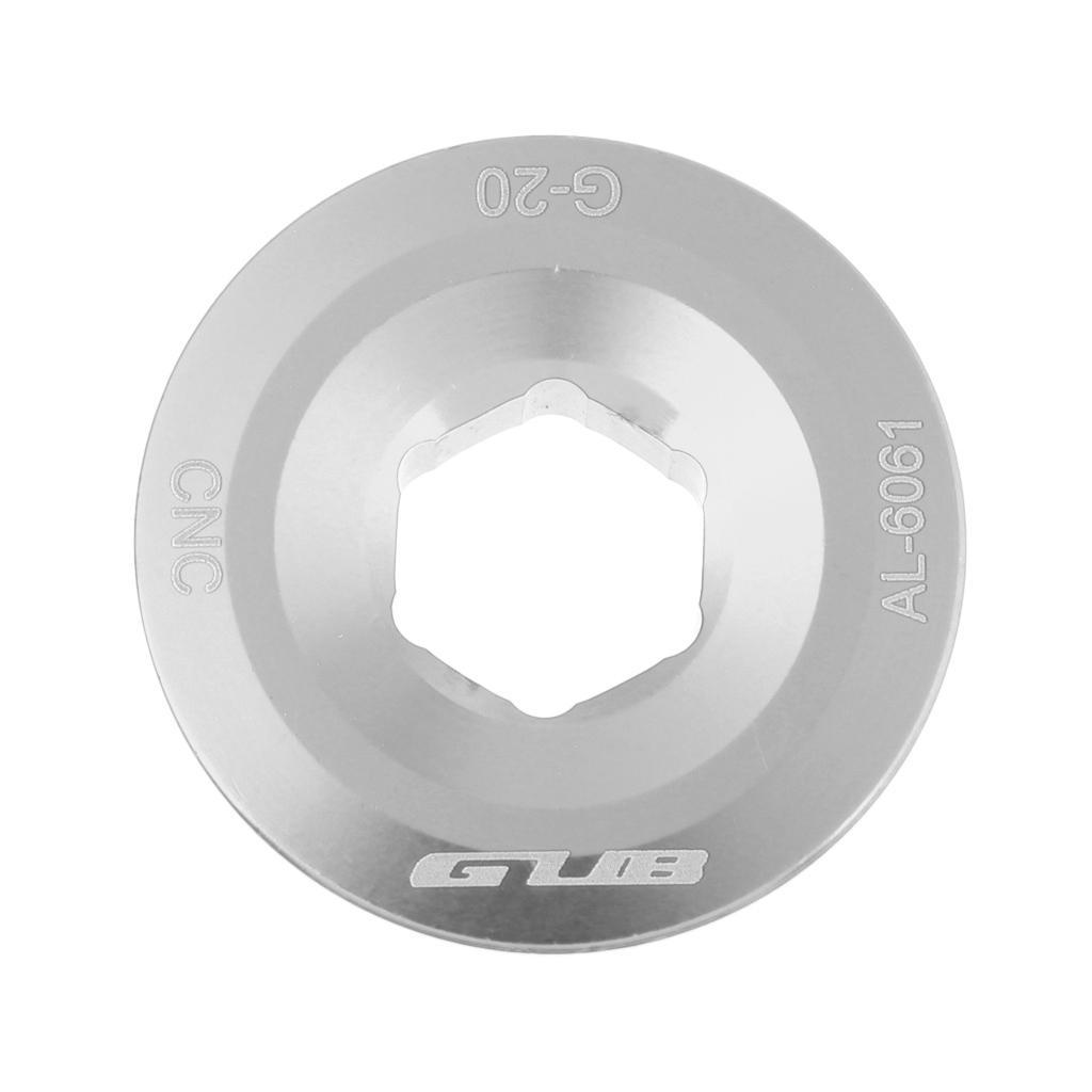 MTB Bike Bicycle Crank Arm Fixing Bolt CNC M20 Screw For Shimano Chainset