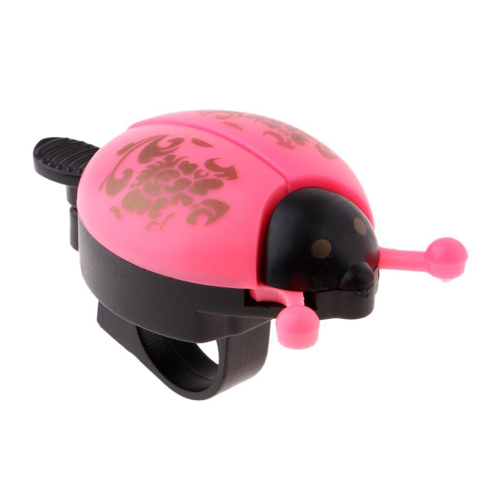 Ladybug Kids Bike Bell Horn Cycle Classic Ring Bicycle Universal Handlebar Alarm