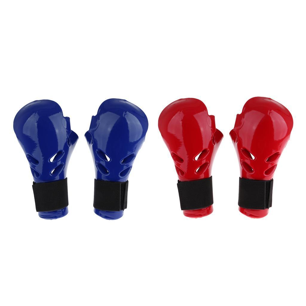 Indexbild 3 - Kinder Taekwondo Handschuhe Kampfsport Sparring TKD Grappling MMA Protector