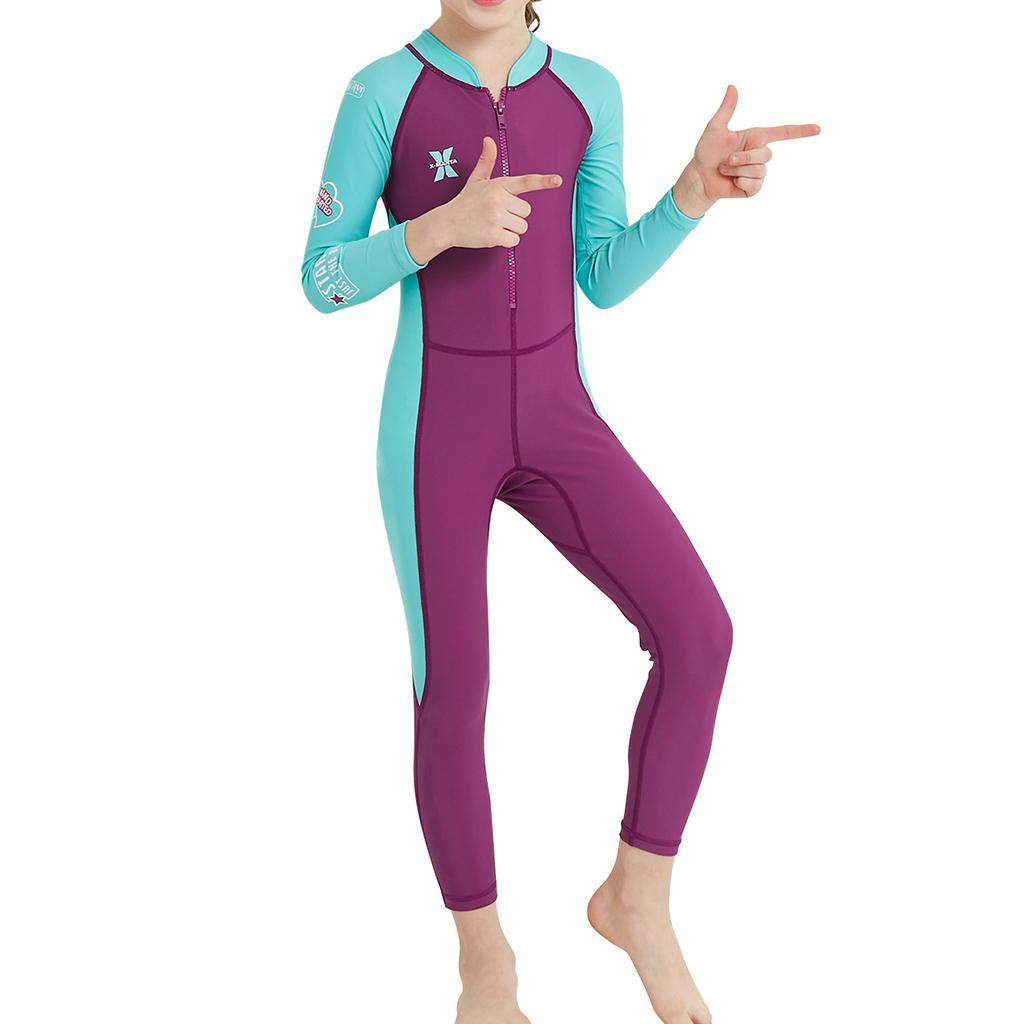 thumbnail 13 - Kids Wetsuit Full Body Swimsuit 2.5mm Neoprene Wetsuit UV Protective Quick Dry