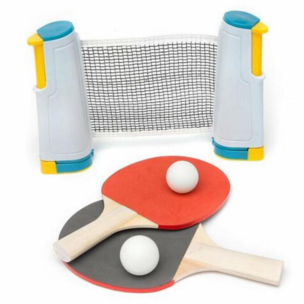 miniature 6 - Einziehbares table tennisnetz Grille stable Mesh Portable Table tennisnetz Rack