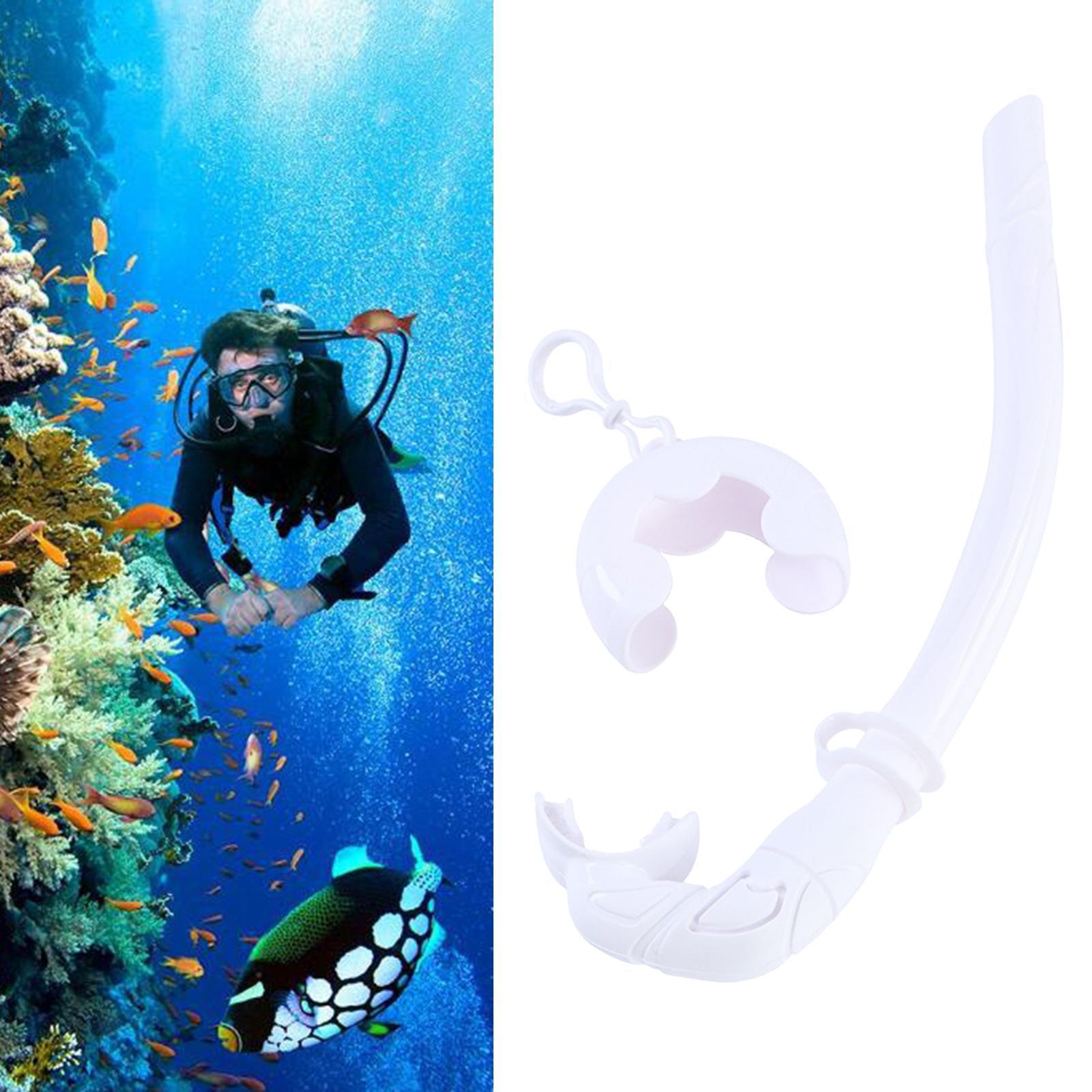 Indexbild 8 - Premium Wet Snorkel Women Men Adults Snorkels Breathing Tube Breath Tube