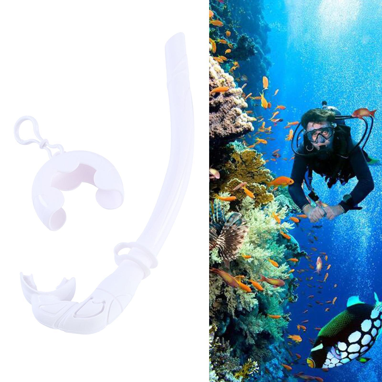 Indexbild 9 - Premium Wet Snorkel Women Men Adults Snorkels Breathing Tube Breath Tube