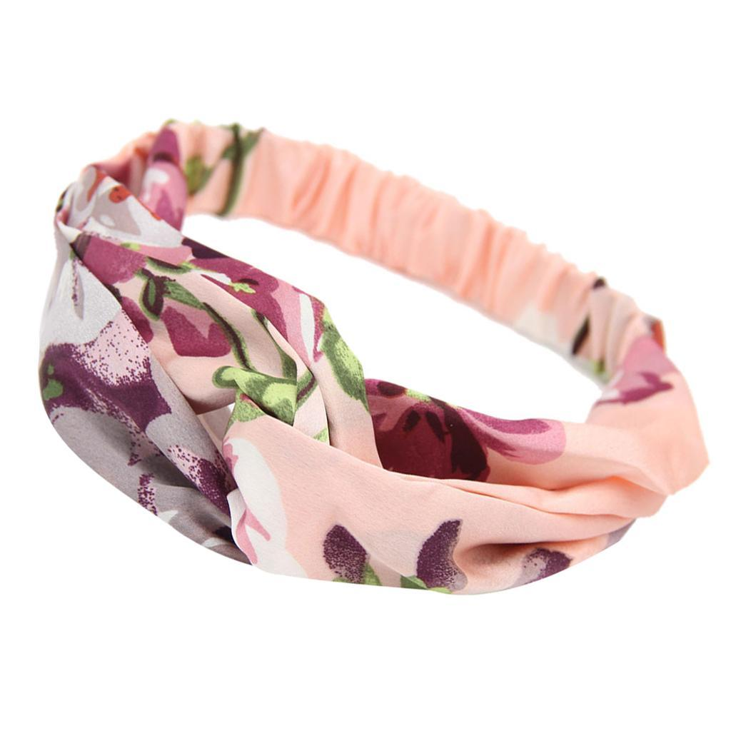 miniatura 7 - Donna Floreale Twisted Knotted Fascia Capelli Head Wrap Turband, Idea Regalo
