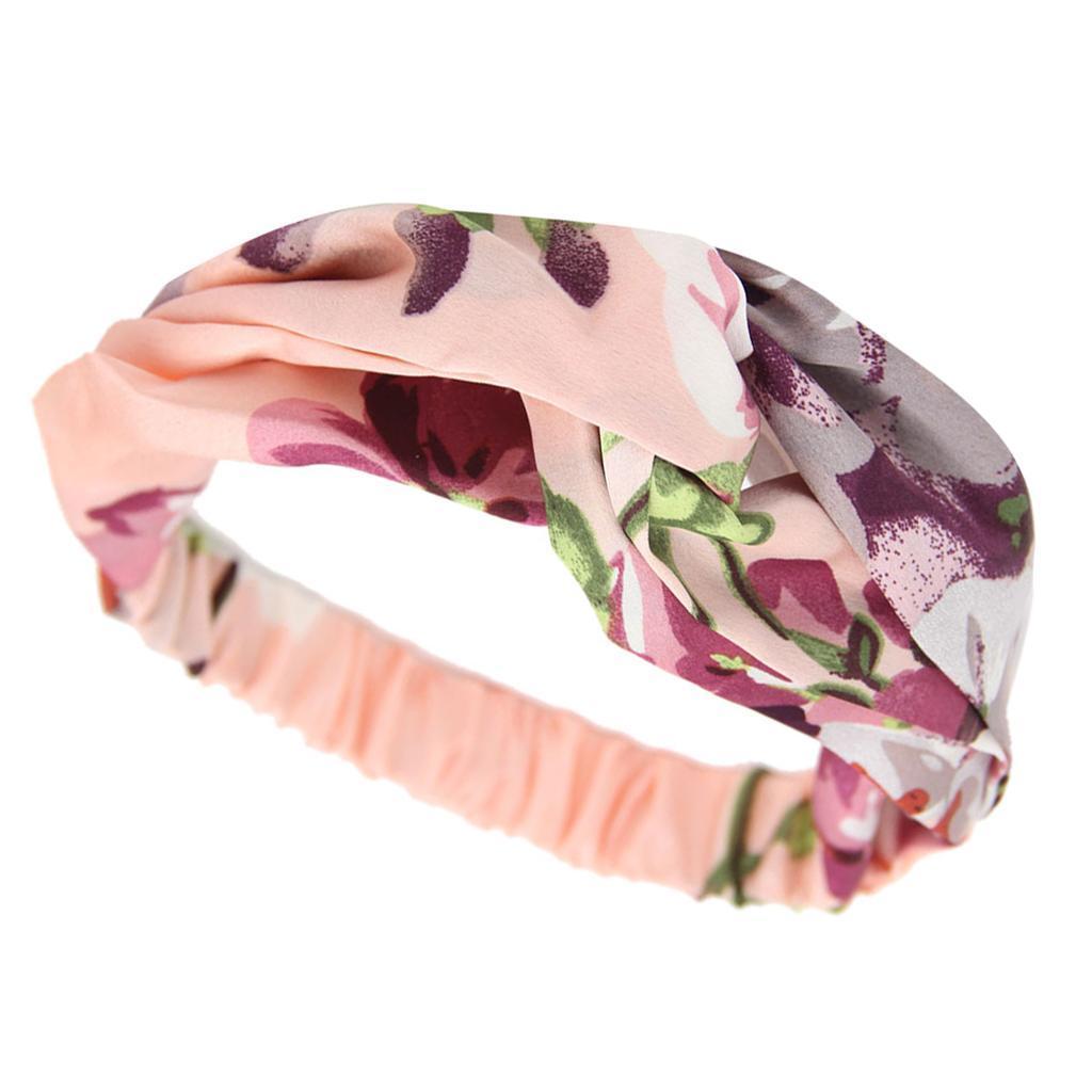 miniatura 9 - Donna Floreale Twisted Knotted Fascia Capelli Head Wrap Turband, Idea Regalo