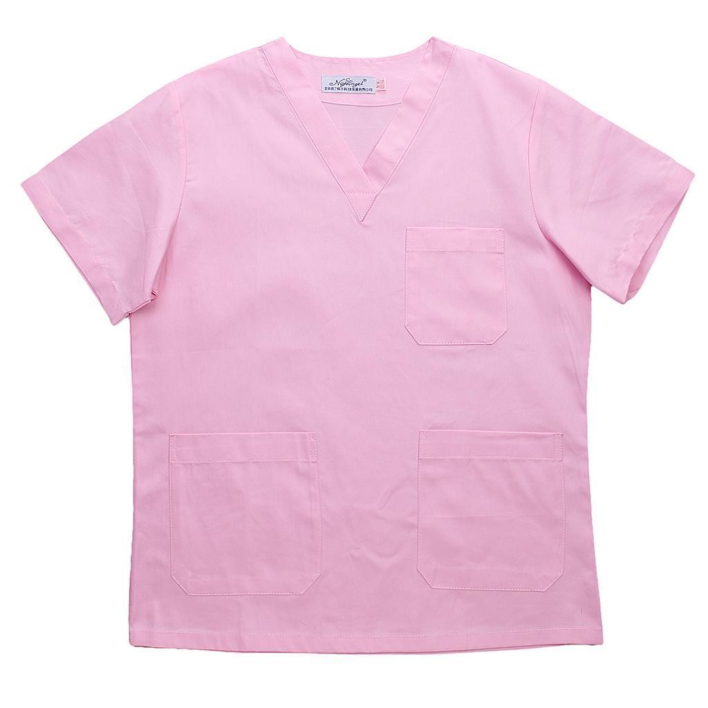 Men-Women-Scrub-Sets-Medical-Spa-Nursing-Clinic-Hospital-Uniform-Top-Pants miniature 43