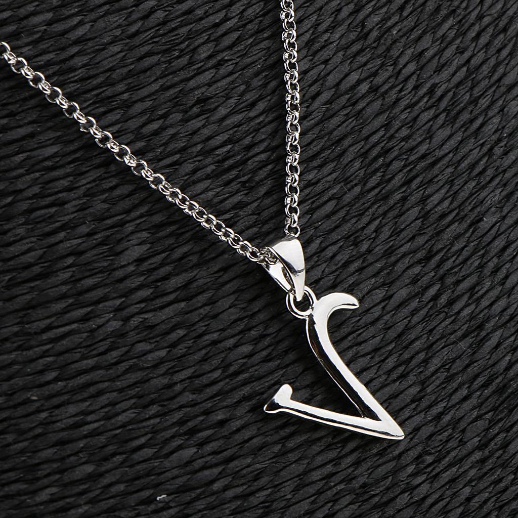 A-Z-Alphabet-Initial-Letter-Pendant-Necklace-Chain-Choker-Jewelry-Men-Women thumbnail 68