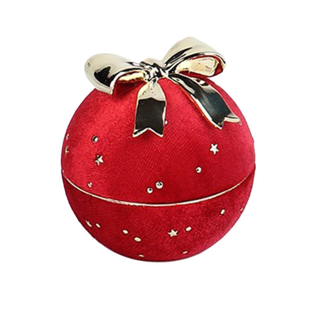 Bowknot-ronde-collier-pendentif-boite-personnelle-bijoux-vitrine-presente miniature 7