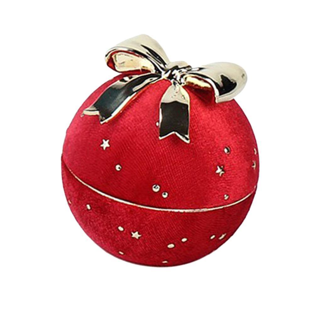 Bowknot-ronde-collier-pendentif-boite-personnelle-bijoux-vitrine-presente miniature 6