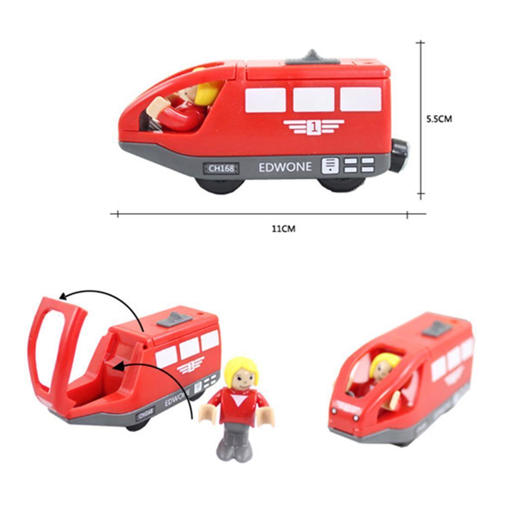 Varios-conjunto-de-construccion-de-tren-de-madera-TRACKS-Railway-Bridge-Accesorio-Juguete-compatible miniatura 30