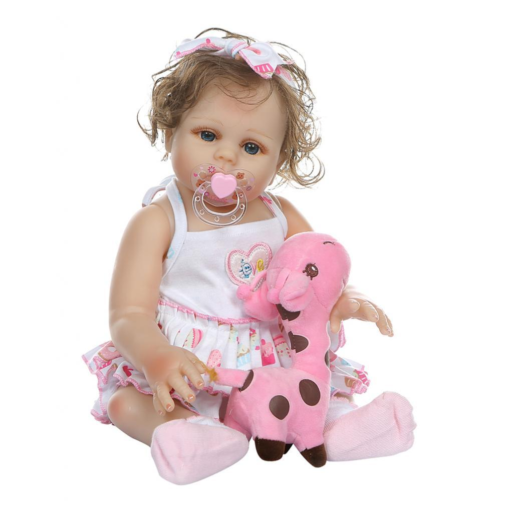 19-inch-Realistic-Babies-Dolls-Girls-Soft-Vinyl-Silicone-Kids-Gifts-Age-3 thumbnail 24