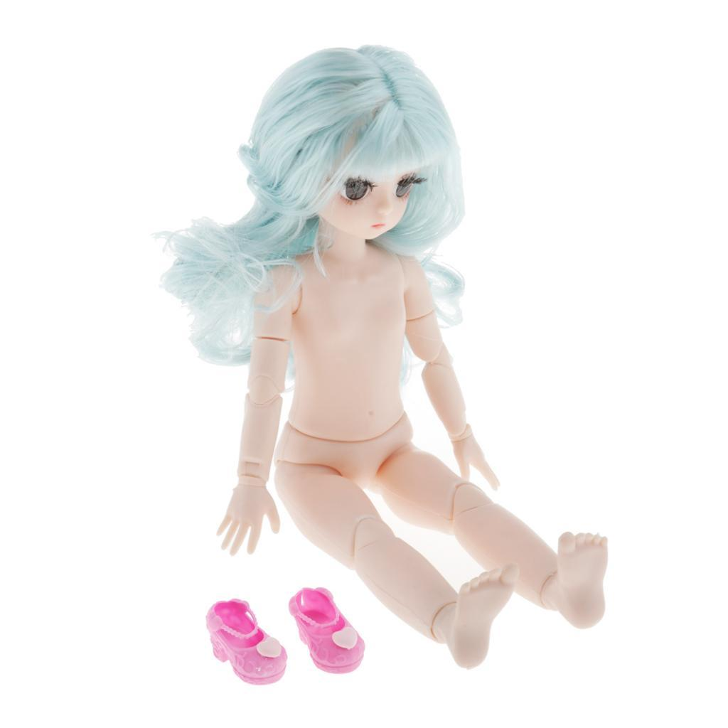 28cm-BJD-Baby-Girl-Doll-Nude-Body-Fashion-Dolls-DIY-Toy-for-Girls-Gifts thumbnail 24