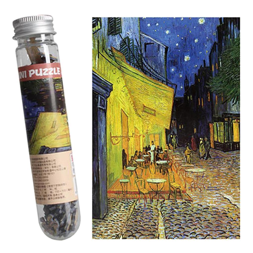 miniatura 26 - Pittura A olio di Puzzle Puzzle di Prova Tubo Capsula Gioco Di Puzzle