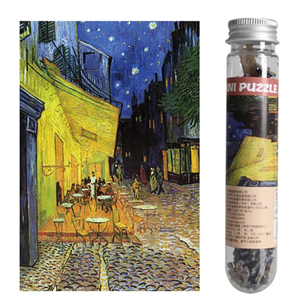 miniatura 29 - Pittura A olio di Puzzle Puzzle di Prova Tubo Capsula Gioco Di Puzzle