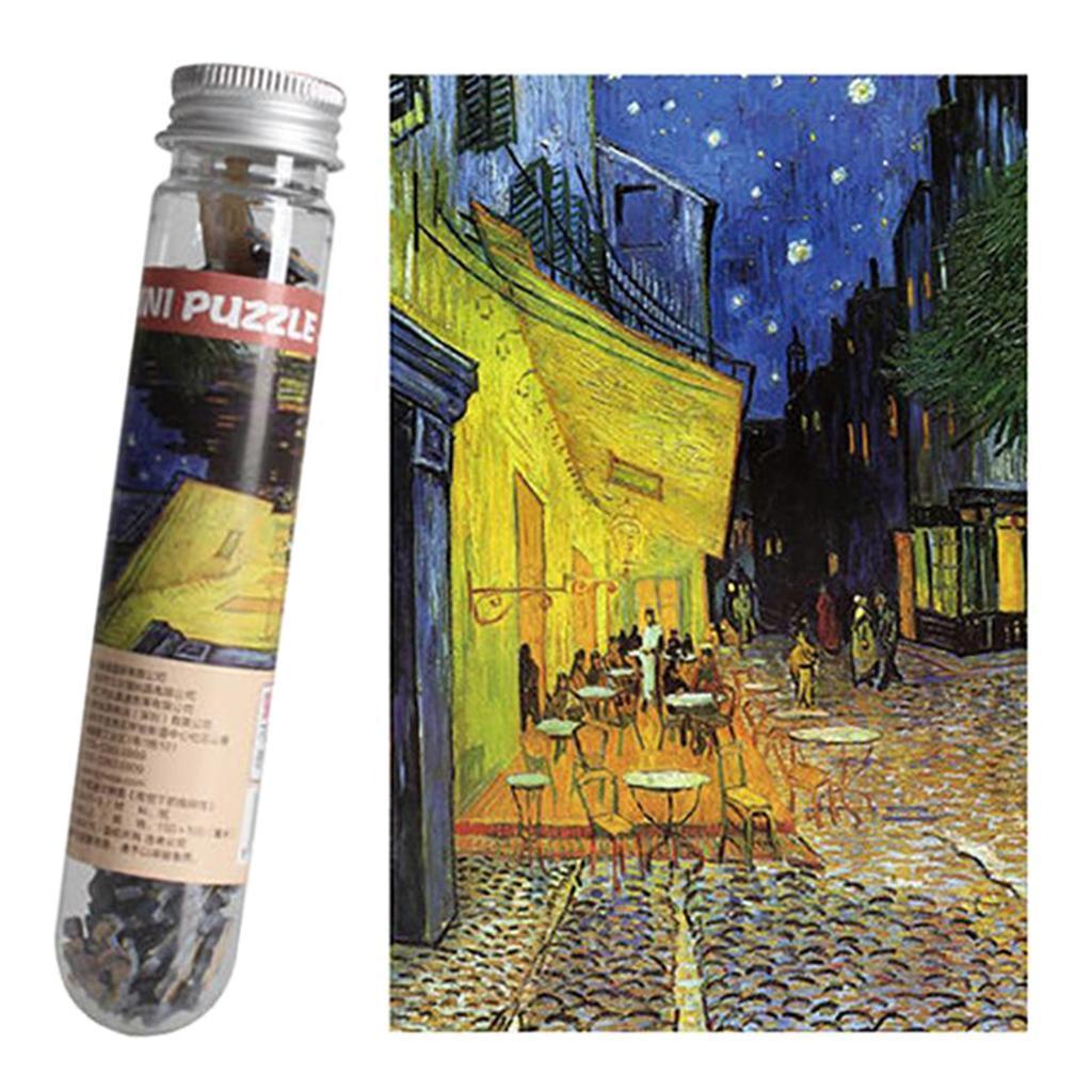 miniatura 24 - Pittura A olio di Puzzle Puzzle di Prova Tubo Capsula Gioco Di Puzzle
