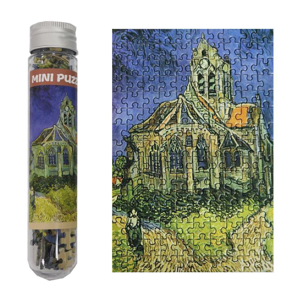 miniatura 106 - Pittura A olio di Puzzle Puzzle di Prova Tubo Capsula Gioco Di Puzzle