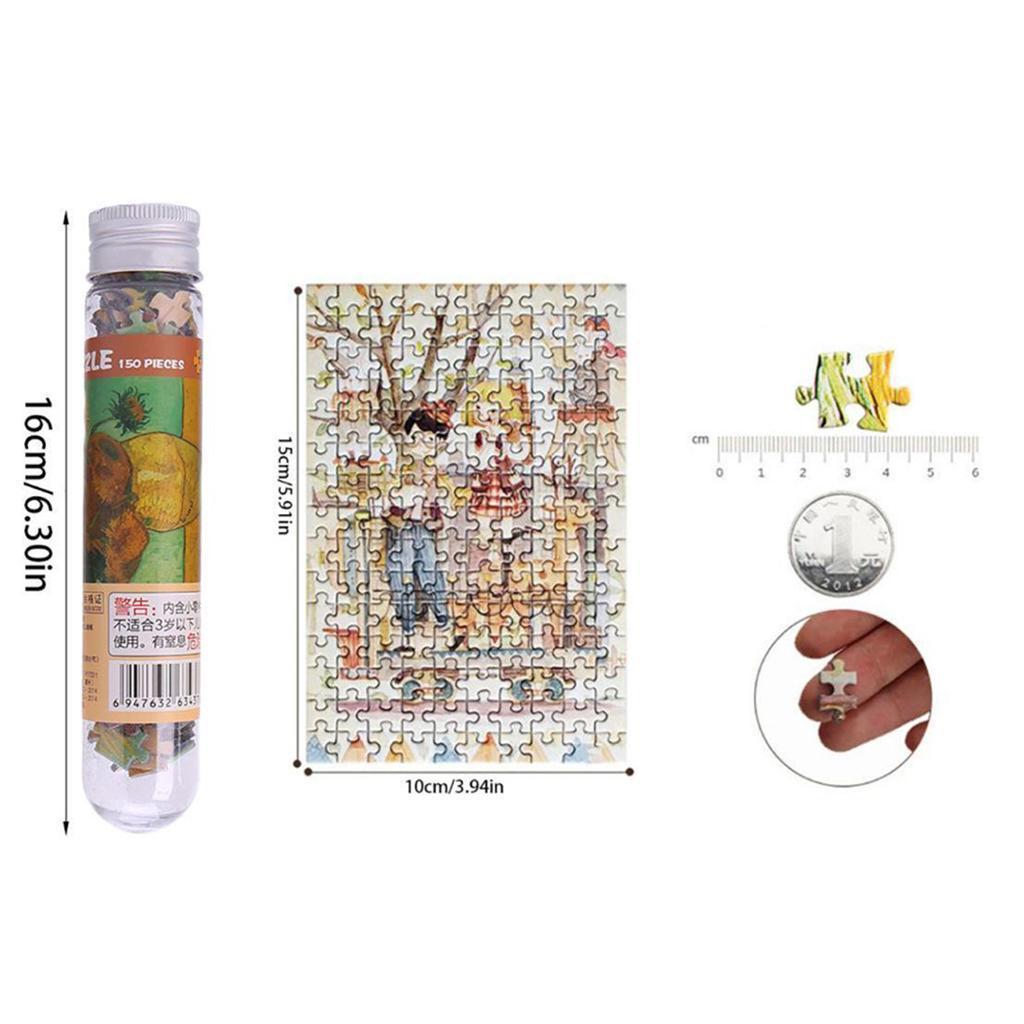 miniatura 109 - Pittura A olio di Puzzle Puzzle di Prova Tubo Capsula Gioco Di Puzzle