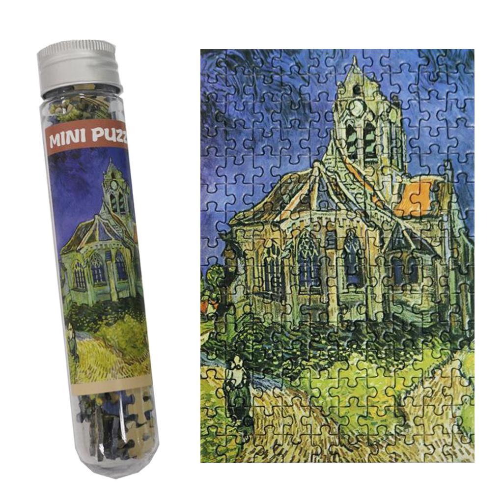 miniatura 111 - Pittura A olio di Puzzle Puzzle di Prova Tubo Capsula Gioco Di Puzzle