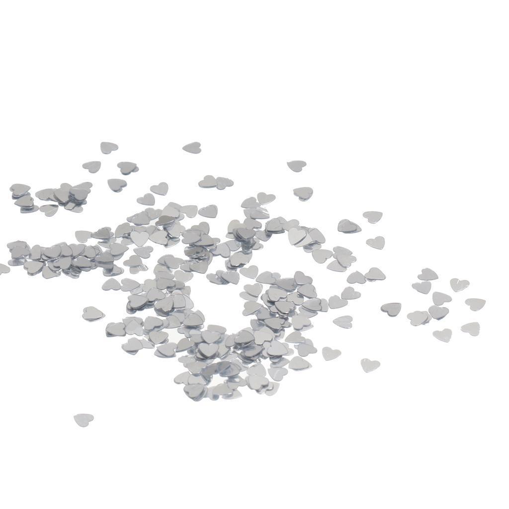 Metallic-Star-Heart-Balloon-Confetti-Wedding-Table-Scatter-Decor-Gold-Silver-Red miniature 10