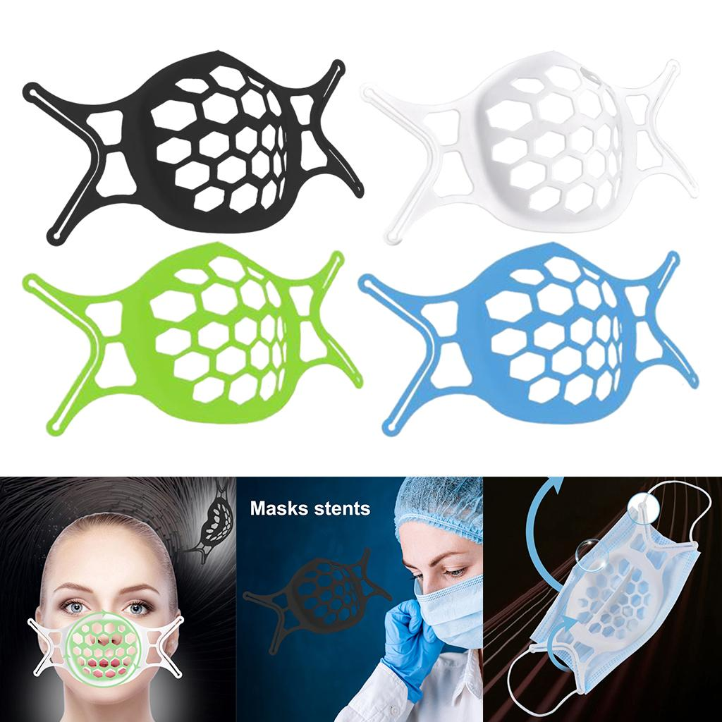 3D Face Mask Bracket Support Separate Space Holder Protector Safety Washable